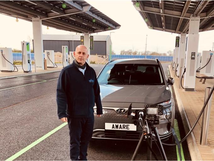 AWARE Series TV Electric Vehicle Training