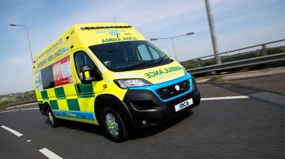 E-ambulance AWARE Series