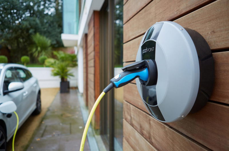 Electric vehicle charging at home