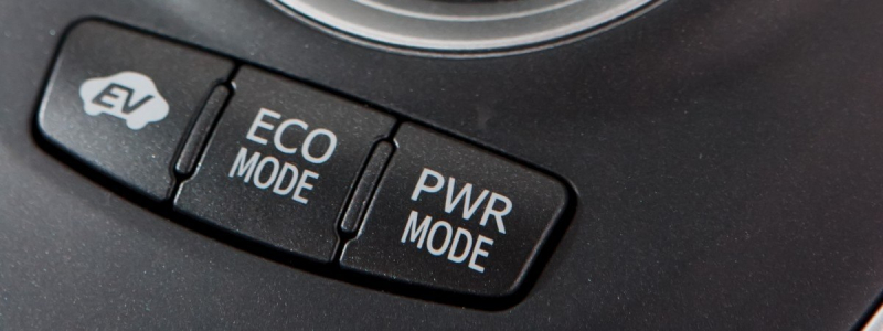 Electric vehicle driving  modes